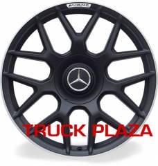 Jogo de 04 Rodas Mercedes S63 aro 18 Duas Talas Preta Borda Diamond