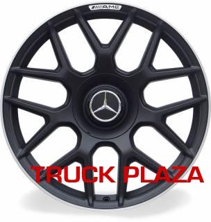 Jogo de 04 Rodas Mercedes S63 aro 20 Duas Talas Preta Borda