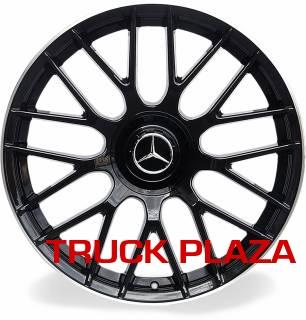 Jogo de 04 Rodas Mercedes AMG C63 aro 20 Duas Talas 5X112 BD