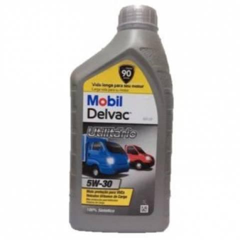 Óleo para Motor Mobil Delvac Diesel MX 5W-30 - Dagostin Pneus