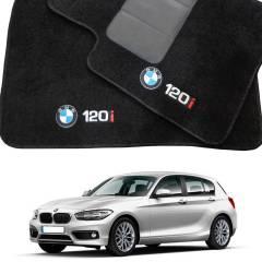 Tapete Automotivo BMW 120 i em Carpet Linha Luxo