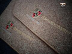 Tapete Automotivo Porsche Cayenne em Carpet Linha Luxo