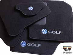 Tapete Automotivo VW Golf em Carpet Linha Luxo