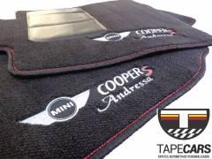 Tapete Automotivo Mini Cooper em Carpet Linha Luxo