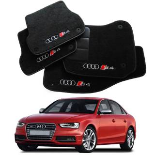 Tapete Automotivo Audi S4 em Carpet Linha Luxo   Scar Automotive
