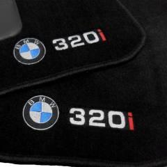 Tapete Automotivo BMW 320i  em Carpet Linha Luxo