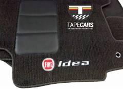 Tapete Automotivo Fiat Idea em Carpet Linha Luxo