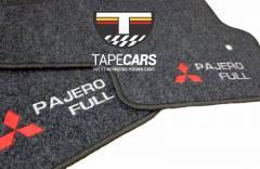 Tapete Automotivo Mitsubishi Pajero Full em Carpet Linha Luxo