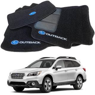 Tapete Automotivo Subaru Outback carpet Linha Luxo | Scar Automotive