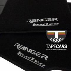 Tapete Automotivo Ford Ranger em Carpet Linha Luxo