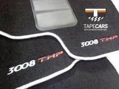 Tapete Automotivo Peugeot 3008 em Carpet Linha Luxo
