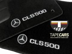 Tapete Automotivo Mercedes Benz CLS 500 em Carpet Linha Luxo