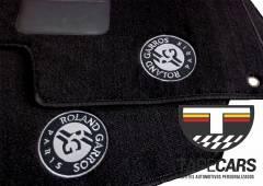 Tapete Automotivo Peugeot Roland Garros em Carpet Linha Luxo