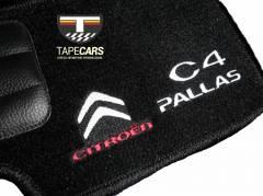 Tapete Automotivo Citroen C4 Pallas em Carpet Linha Luxo