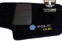Tapete Automotivo VW Polo em Carpet Linha Luxo