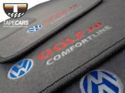 Tapete Automotivo VW Golf Comfortline em Carpet Linha Luxo