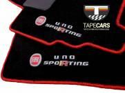 Tapete Automotivo Fiat Uno Sporting em Carpet Linha Luxo
