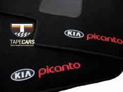 Tapete Automotivo Kia Picanto em Carpet Linha Luxo