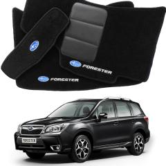 Tapete Automotivo Subaru Forester carpet Linha Luxo