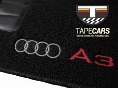Tapete Automotivo Audi A3 em Carpet Linha Luxo