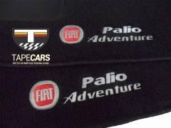 Tapete Automotivo Fiat Palio Adventure em Carpet Linha Luxo