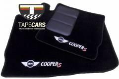 Tapete Automotivo Mini Cooper Countryman em Carpet Linha Luxo
