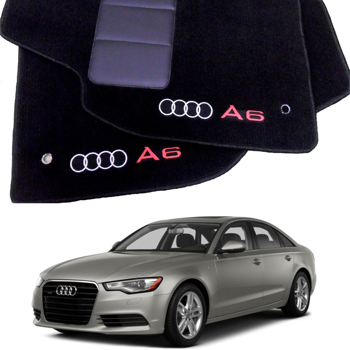 Tapete Automotivo Audi A6 em Carpet Linha Luxo