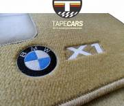 Tapete Automotivo BMW X 1 em Carpet Linha Luxo