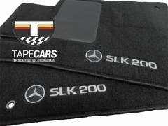 Tapete Automotivo Mercedes SLK 200 em Carpet Linha Luxo