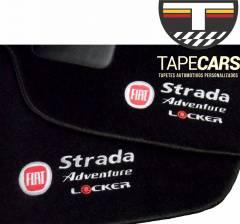 Tapete Automotivo Fiat Strada Carpet Linha Luxo