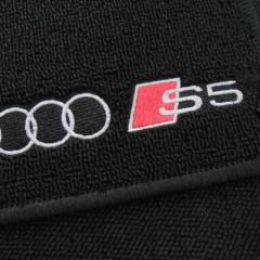 Tapete Automotivo Audi S5 em Carpet Linha Luxo