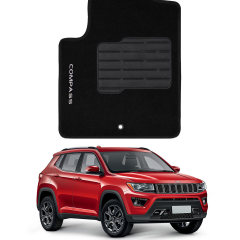 Tapete Automotivo Jeep Compass em Carpete Luxo