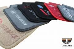 Tapete Automotivo Smart Fortwo Passion Cabrio em Carpet Linha Luxo