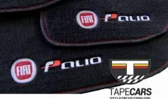 Tapete Automotivo Fiat Palio em Carpet Linha Luxo