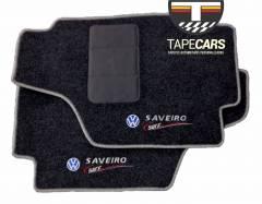 Tapete Automotivo VW Saveiro Surf em Carpet Linha Luxo