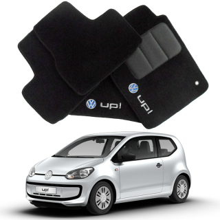 Tapete Automotivo VW UP em Carpet Linha Luxo | Scar Automotive