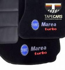 Tapete Automotivo Fiat Marea em Carpet Linha Luxo