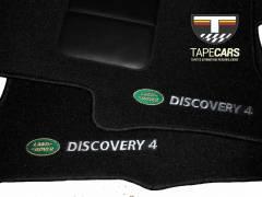 Tapete Automotivo Discovery em Carpet Linha Luxo