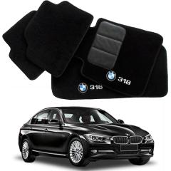 Tapete Automotivo BMW 318 em Carpet Linha Luxo