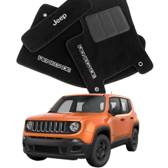 Tapete Automotivo Jeep Renegade em Carpete Luxo