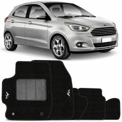 Tapete Automotivo Ford Ka carpete base pinada
