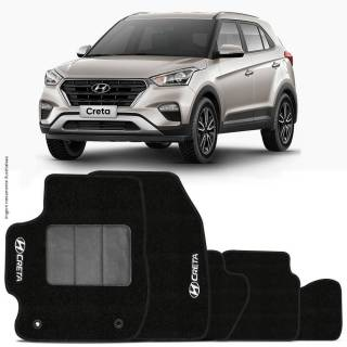 Tapete Automotivo Hyundai Creta carpete base pinada | Scar Automotive