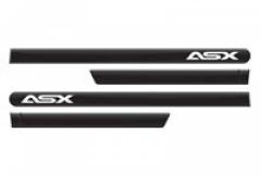 Friso Lateral Mitsubishi Asx 2011 Preto Onix Personalizado 4 Peças