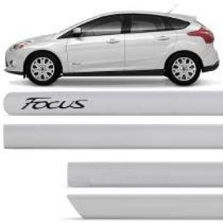 Friso Lateral Ford Focus Prata GeadaPintado 2014 | Scar Automotive