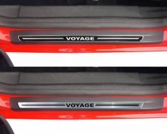 Soleira Resinada Volksvagen Voyage G5 G6 2014 2015 4 Peças