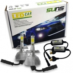 Kit Lâmpadas Led Car Branca Headlight