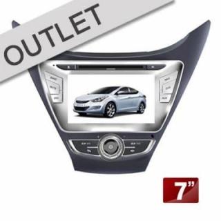 Central Multimídia Hyundai  ELANTRA 2011/2013 | Scar Automotive