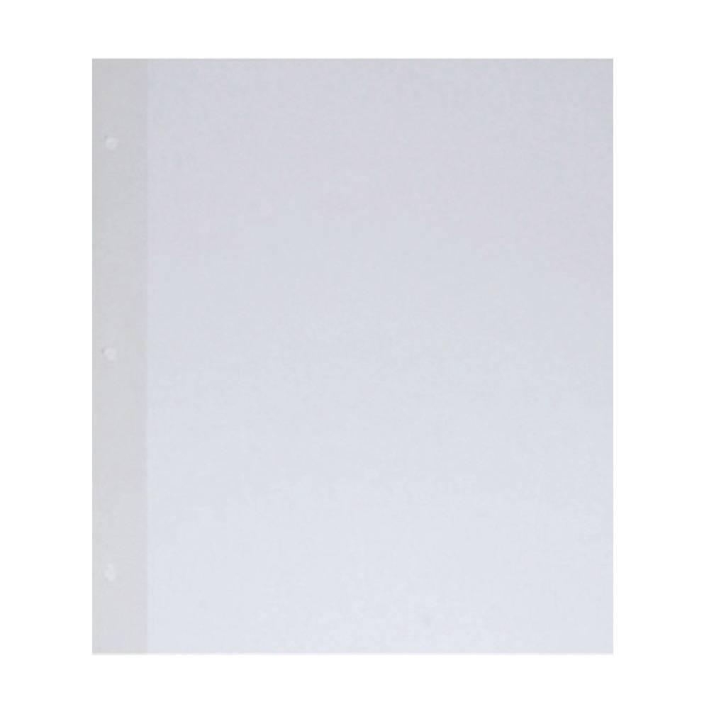 Plástico para fotos - com seda e cartolina branca para Álbum / Capa 3 Pinos