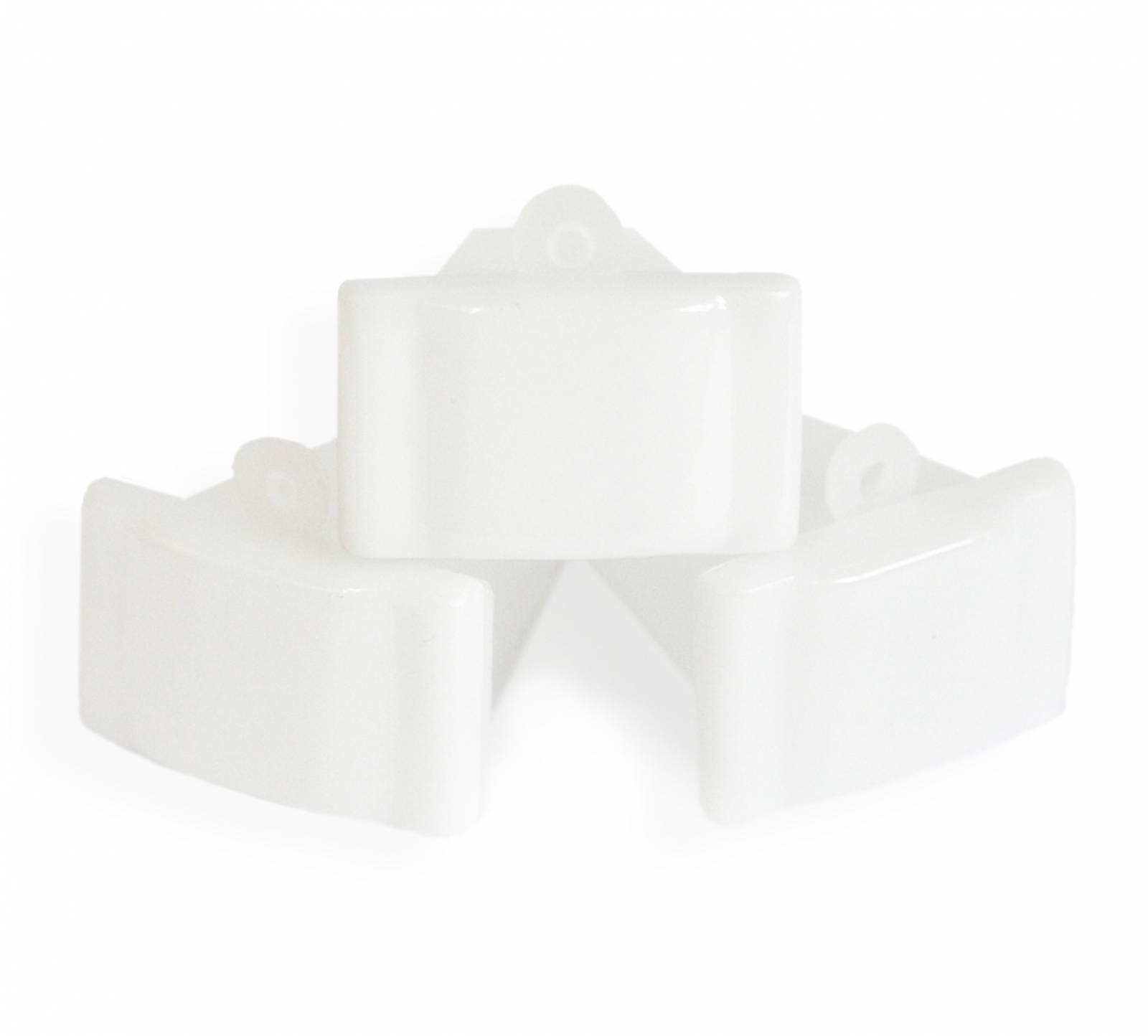 Monóculo Branco | kit c/10 unidades