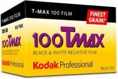 Filme Fotográfico Kodak Profissional T-MAX 100 Preto e Branco | Ticcolor